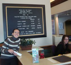 Front Desk At Focus On The Family