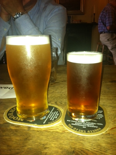 Moorhouses White Witch and Timothy Taylor Landlord
